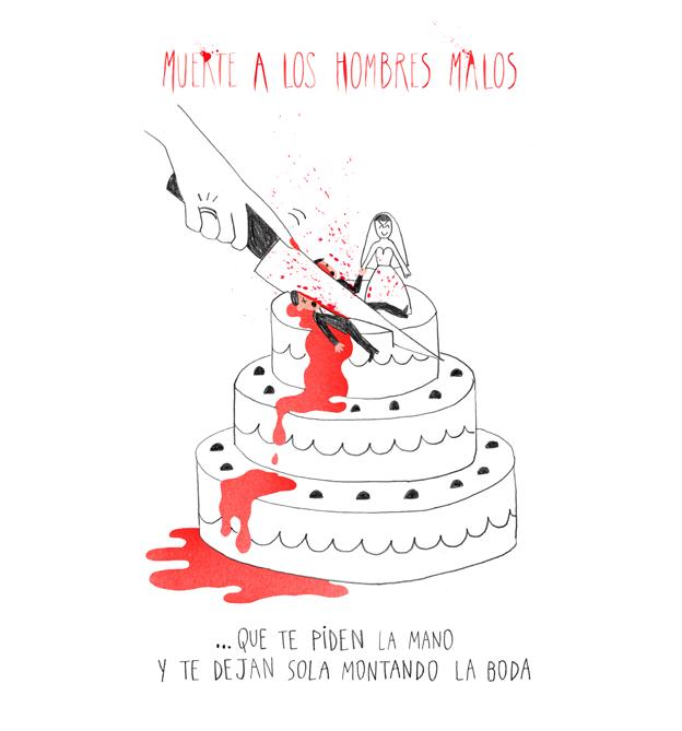 muerte a los novios malos